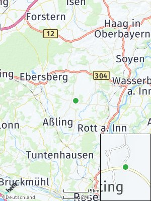 Here Map of Frauenneuharting