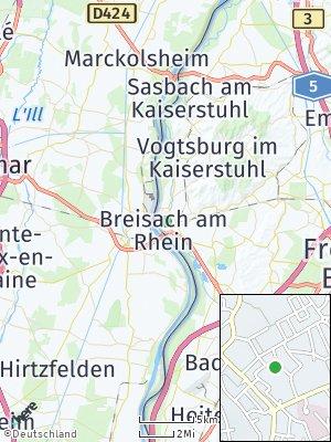 Here Map of Breisach am Rhein