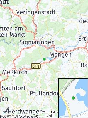 Here Map of Krauchenwies