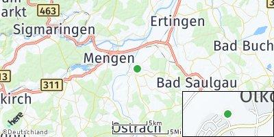 Google Map of Hohentengen