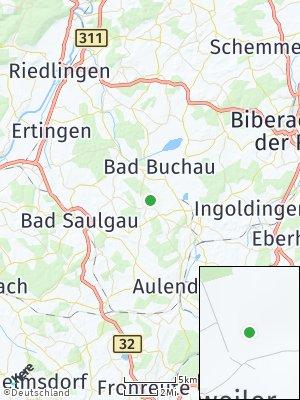 Here Map of Allmannsweiler