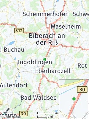 Here Map of Hochdorf