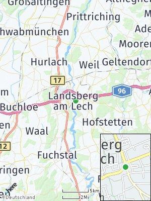 Here Map of Landsberg