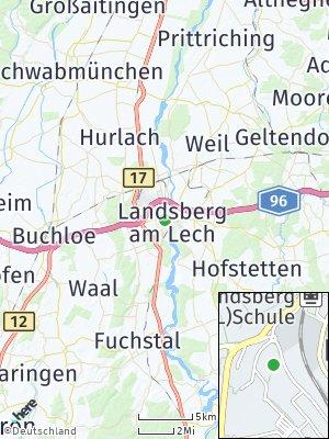Here Map of Landsberg am Lech