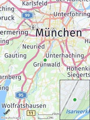 Here Map of Grünwald