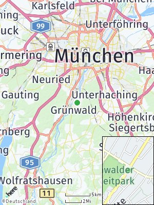 Here Map of Pullach im Isartal