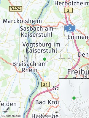 Here Map of Ihringen