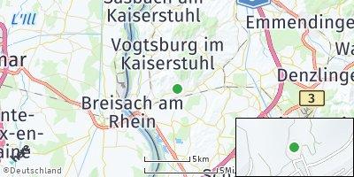 Google Map of Ihringen
