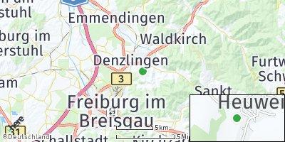Google Map of Heuweiler