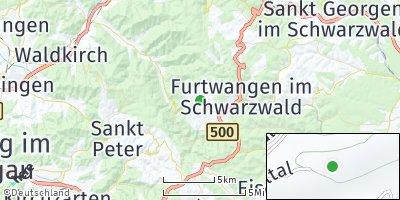Google Map of Gütenbach