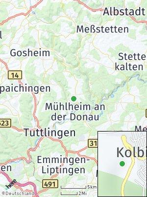 Here Map of Kolbingen