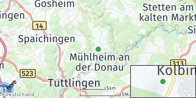 Google Map of Kolbingen