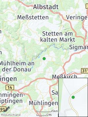 Here Map of Leibertingen