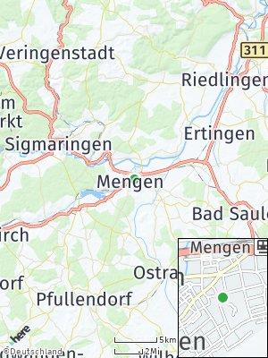 Here Map of Mengen