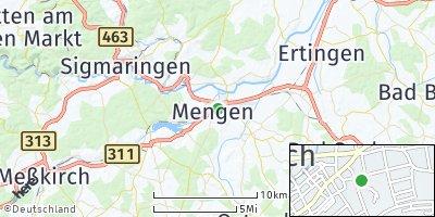 Google Map of Mengen