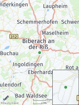 Here Map of Rißegg