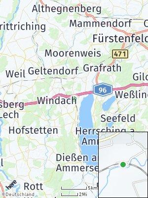 Here Map of Greifenberg