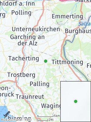 Here Map of Tyrlaching