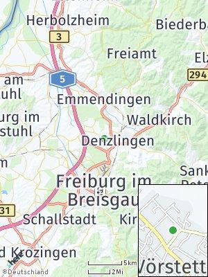 Here Map of Vörstetten