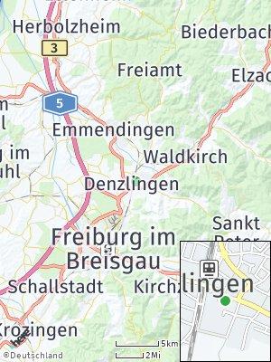 Here Map of Denzlingen