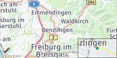 Google Map of Denzlingen