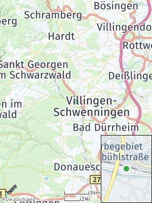 Here Map of Villingen