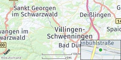 Google Map of Villingen-Schwenningen