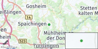 Google Map of Mahlstetten