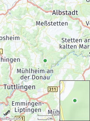 Here Map of Bärenthal