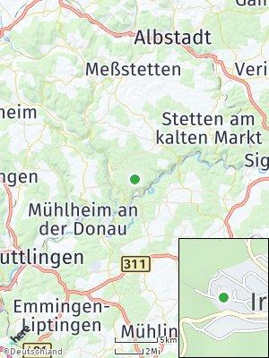 Here Map of Irndorf