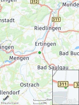 Here Map of Herbertingen