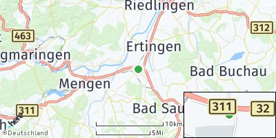Google Map of Herbertingen