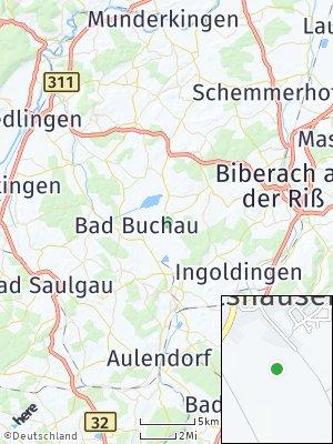 Here Map of Oggelshausen