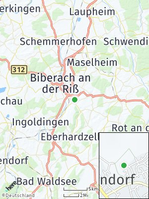 Here Map of Ummendorf