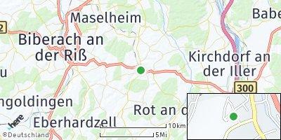 Google Map of Ochsenhausen