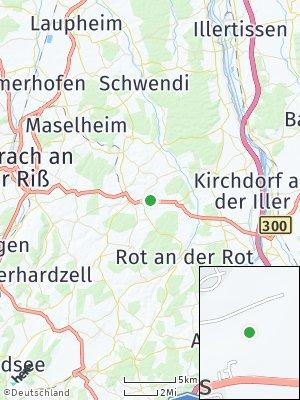 Here Map of Erlenmoos
