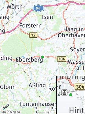 Here Map of Steinhöring bei München