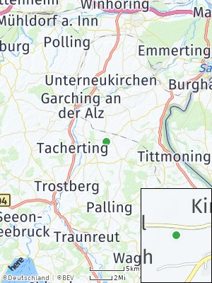 Here Map of Kirchweidach