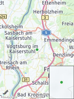 Here Map of Bötzingen