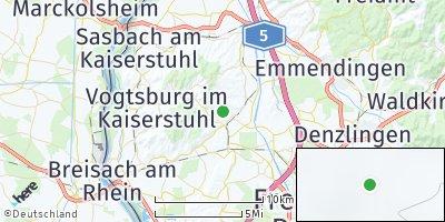 Google Map of Bötzingen
