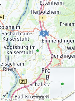 Here Map of Eichstetten