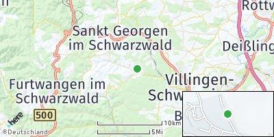 Google Map of Unterkirnach