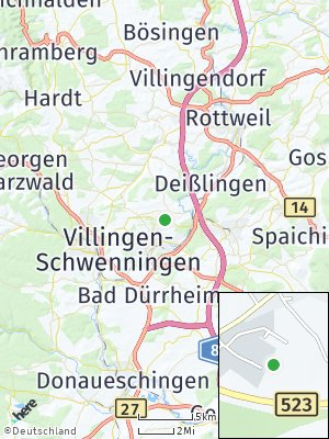 Here Map of Dauchingen