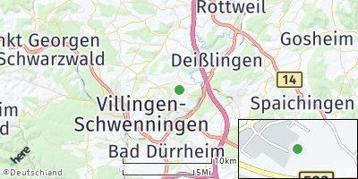 Google Map of Dauchingen