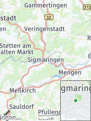 Here Map of Sigmaringen