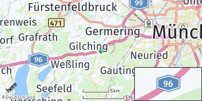 Google Map of Geisenbrunn