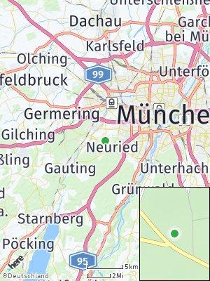 Here Map of Gräfelfing