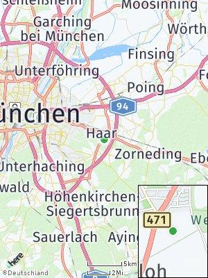 Here Map of Haar bei München