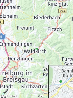 Here Map of Waldkirch