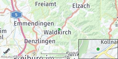 Google Map of Waldkirch